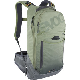 EVOC Trail Pro 10 Protector Backpack light olive/carbon grey